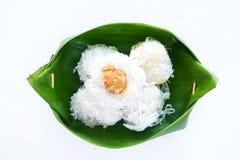 Nachtisch von Thailand Stockbild