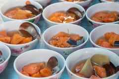 Nachtisch von Thailand Stockbilder