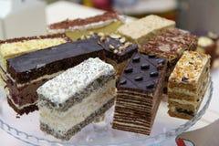 Nachtische und Kuchen Lizenzfreies Stockfoto