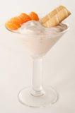 Nachtischjoghurt Stockfoto
