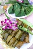Nachtischschüssel der thailändischen Definition. stockbilder