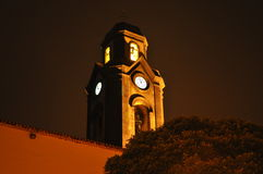 Nachtkerk stock foto