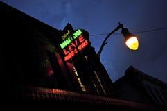 Nachtklub-Neon Lizenzfreies Stockfoto