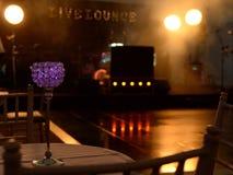Nachtklub- oder Discoinnenraum ohne Leute stockbilder