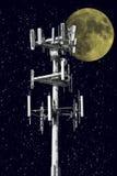 Nachtkontrollturm Lizenzfreie Stockbilder