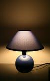 Nachtlampe stockbild