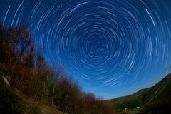 Nachtlandschaft Lizenzfreies Stockfoto