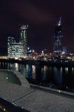 Nachtlandschaft von Moskau Lizenzfreies Stockfoto