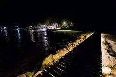 Nachtlandschap van Koh Kood Royalty-vrije Stock Foto