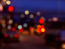 Nachtleben blured Lizenzfreie Stockfotografie