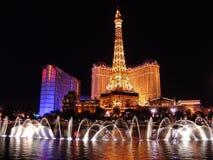 Nachtleben in Las Vegas lizenzfreies stockbild