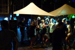 Nachtleben Sydney Stockbild