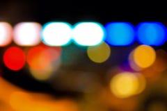 Nachtlicht Royalty-vrije Stock Afbeelding