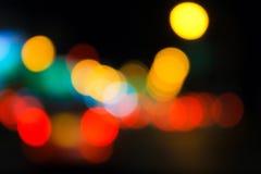 Nachtlicht Royalty-vrije Stock Fotografie