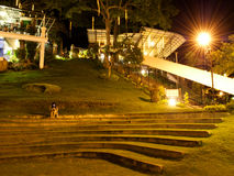 Nachtlicht Stock Afbeelding