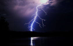 Nachtlicht Stockfoto
