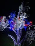 Nachtlichten Stock Fotografie