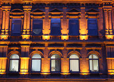 Nachtlichten Royalty-vrije Stock Fotografie