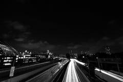 Nachtlichten Stock Foto's