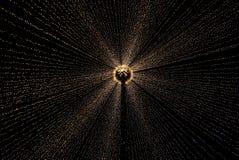 Nachtlichter lizenzfreies stockbild