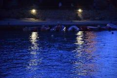 Nachtlichter lizenzfreies stockfoto