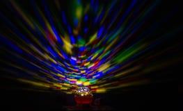 Nachtlichter für Kinder, über der Wand stockfotografie