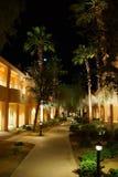 Nachtlichter von südwestlichen Arthotelgebäuden Lizenzfreie Stockfotografie