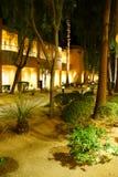 Nachtlichter von südwestlichen Arthotelgebäuden Lizenzfreies Stockbild