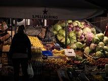 Nachtmarkt Lizenzfreie Stockbilder
