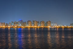 Nachtmening van Seoel city3 Royalty-vrije Stock Foto