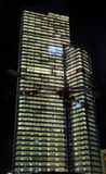Nachtmeningen van Parijs Stock Fotografie