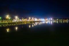 Nachtpark Lizenzfreies Stockbild