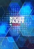 Nachtpartei Vektor Stockfotos
