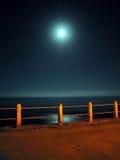 Nachtpier lizenzfreies stockfoto
