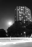 Nachtreflexionen im Wasser Stockfoto