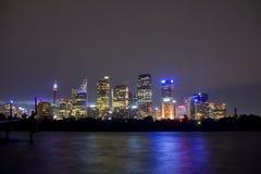 Nachts stockbilder
