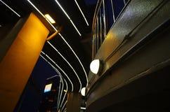 Nachtscène in China Stock Afbeeldingen