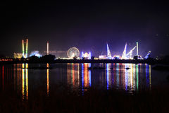 Nachtschuß Stockfoto