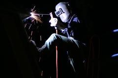 Nachtschweißen Lizenzfreies Stockbild