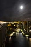 Nachtstad Royalty-vrije Stock Fotografie