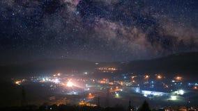 Nachtstad timelapse stock videobeelden