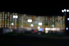 Nachtstadion Stockfoto