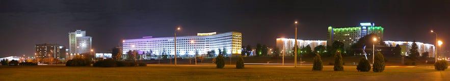 Nachtstadt Lizenzfreie Stockfotos
