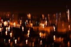 Nachtstadt. lizenzfreies stockfoto