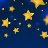 Nachtsterren stock illustratie