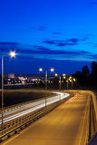 Nachtstraße Lizenzfreie Stockfotos