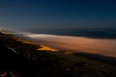 Nachtstrand Stockbild