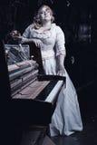 Nachtsymfonie van dood Royalty-vrije Stock Foto