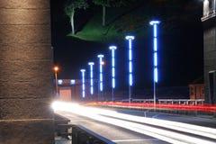 Nachtszene lizenzfreie stockfotografie