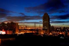 Nachtszene Stockfoto